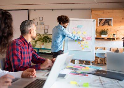 Habilidades para gestionar proyectos.